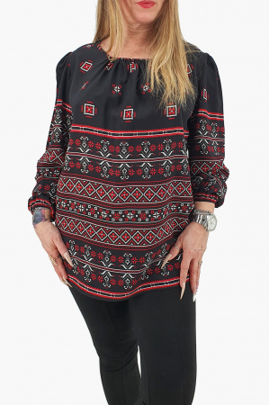 Bluza stilizata cu motive traditionale 40