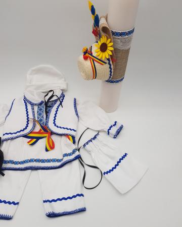 Compleu traditional baietel Adan 32