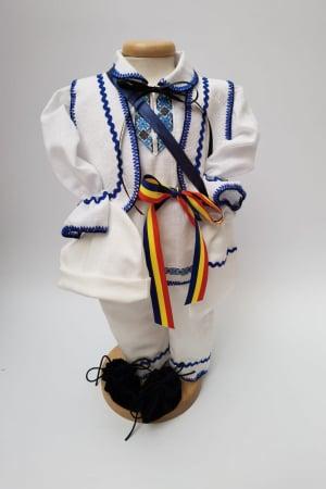 Compleu traditional baietel Albastru [0]
