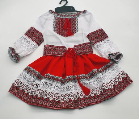Compleu traditional fetite Natalia 60