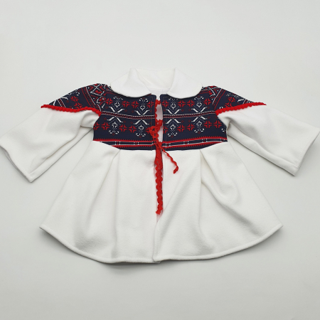 Costum traditional fetita - Palton/Rochita/Fota/Batic si Botosei2