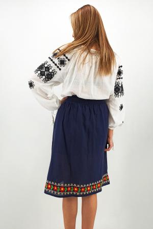 Fusta stilizata cu motive traditionale Ioana3