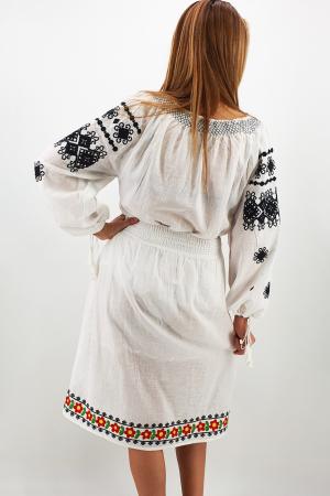Fusta stilizata cu motive traditionale Ioana 34