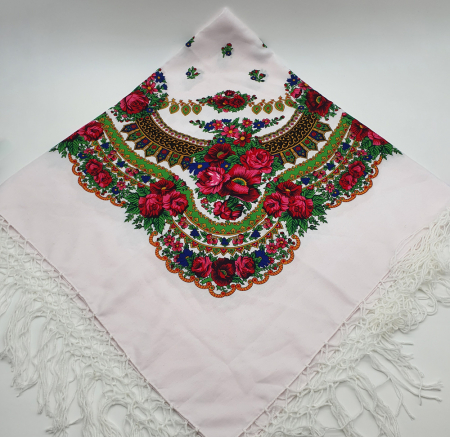 Batic etno mare - Imprimeu Floral0