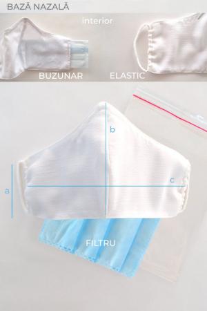 Masca reutilizabila pentru fata - Traditionala2