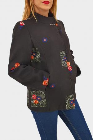 Palton brodat Viorica 41