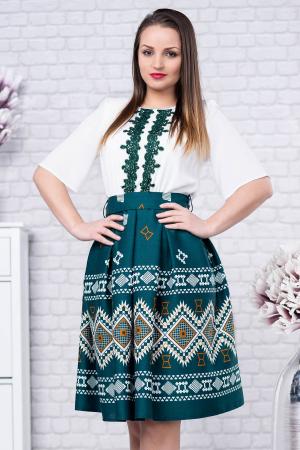 Rochie cu motive traditionale Tatiana 31