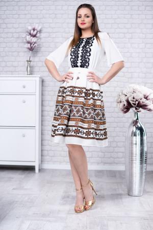 Rochie cu motive traditionale Tatiana 40