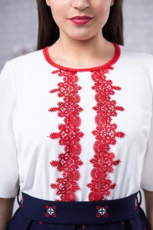 Rochie cu motive traditionale Tatiana2