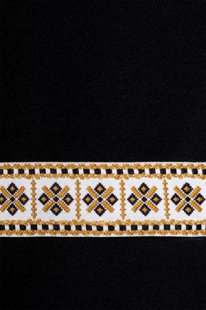 Rochie neagra cu motive traditionale - Rodica1