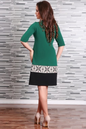 Rochie Stilizata cu Motive Traditionale Camila1