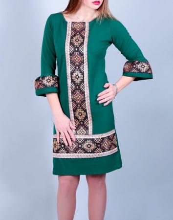 Rochie Stilizata cu Motive Traditionale Andreea0