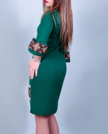 Rochie Stilizata cu Motive Traditionale Andreea1