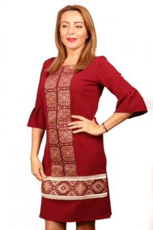 Rochie Stilizata cu Motive Traditionale Izabela 5