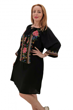 Rochie Traditionala Mela 34