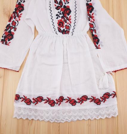 Rochie traditionala fetite Alina3