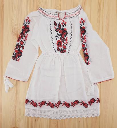 Rochie traditionala fetite Alina0