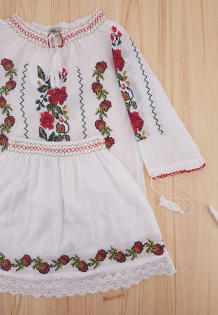 Compleu traditional fetite Lorena