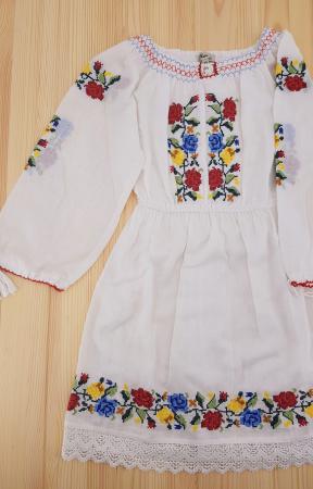 Rochie traditionala fetite Ana0