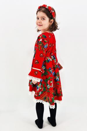 Rochita cu tematica florala de la 4 ani la 6 ani - 22