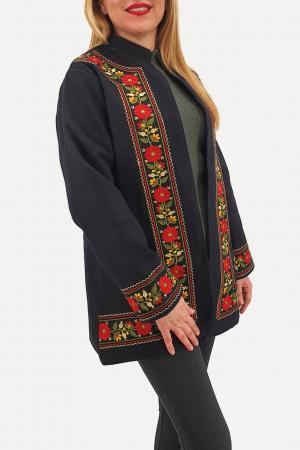 Sacou/Pardesiu brodat cu motive traditionale 32