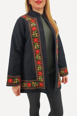 Sacou/Pardesiu brodat cu motive traditionale 35