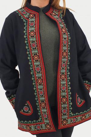Sacou/Pardesiu brodat cu motive traditionale 43