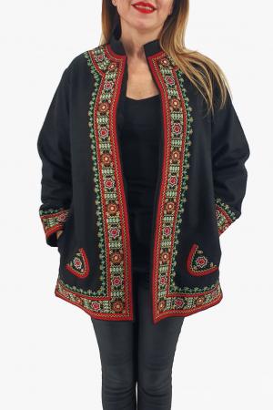 Sacou/Pardesiu brodat cu motive traditionale 71