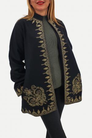 Sacou/Pardesiu brodat cu motive traditionale 22