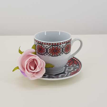 Set cafea cu motive traditionale3