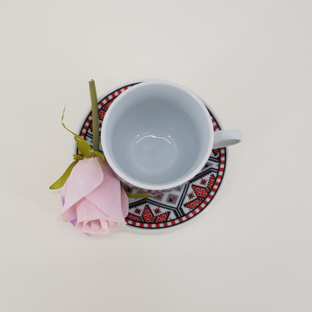 Set cafea cu motive traditionale1