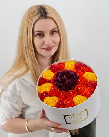 Set cadou – Trandafiri sapun – Raza de Soare0