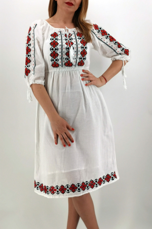 Set Traditional/Rochie traditionala Mama/IE Traditionala fiica Ivana0