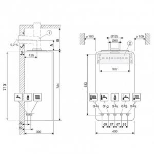 Centrala termica Buderus GB122 Logamax Plus KD H1