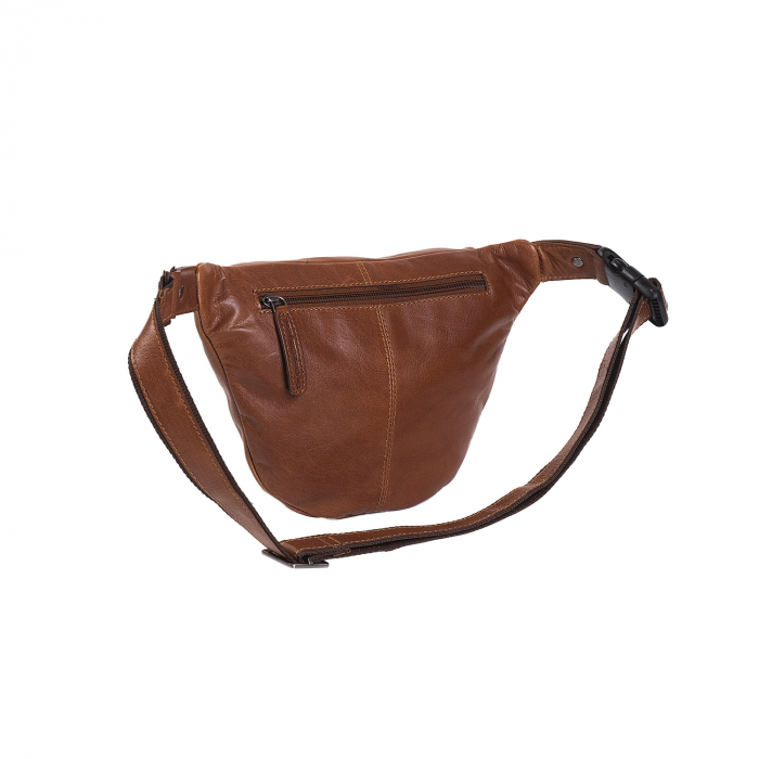 Borseta (marsupiu) de brau, unisex The Chesterfield Brand, piele naturala, Paxton, Maro coniac [5]