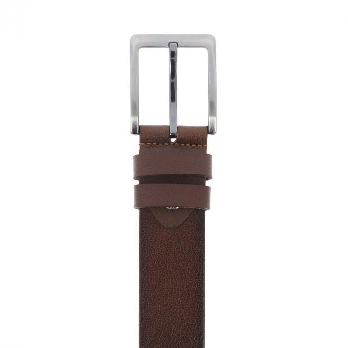 Curea lata maro degrade, din piele, pentru blugi si pantaloni casual, model 41300 [2]