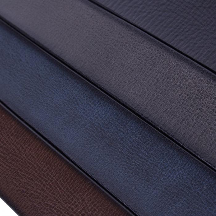 Curea The Chesterfield Brand din piele bleumarin, pentru blugi, Aayden [4]