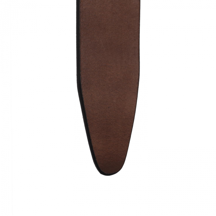 Curea The Chesterfield Brand din piele maro inchis, pentru blugi, Allendale [2]