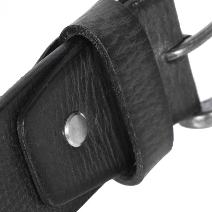 Curea The Chesterfield Brand din piele neagra, pentru blugi, Aayden [2]
