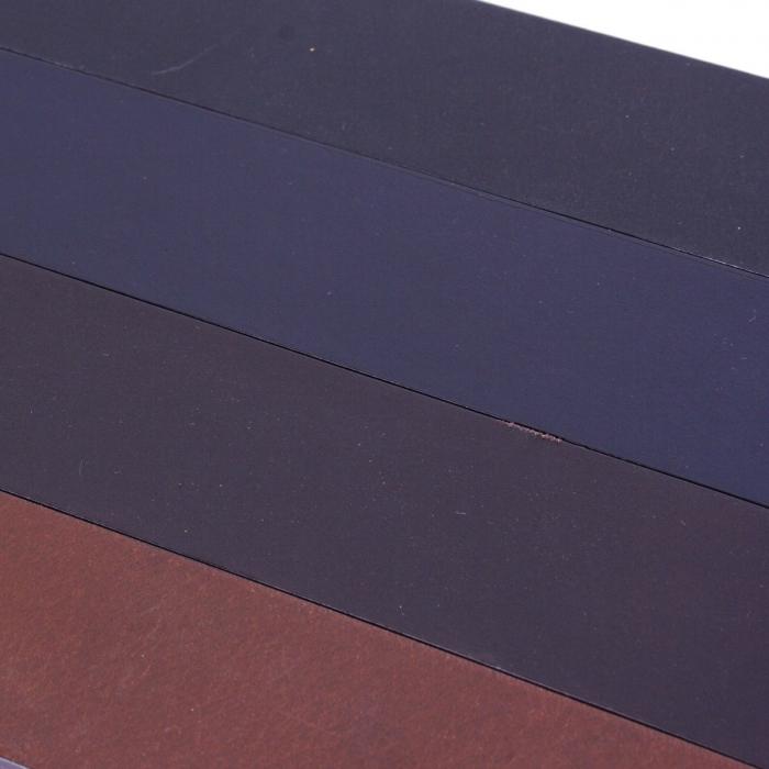 Curea The Chesterfield Brand pentru blugi, din piele naturala maro coniac, Brandon [4]