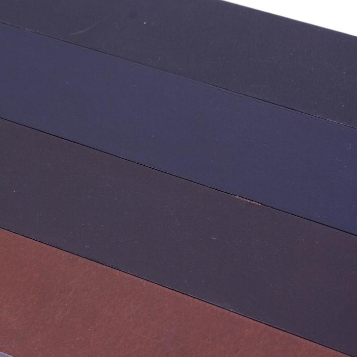 Curea The Chesterfield Brand pentru blugi, din piele naturala maro inchis, Brandon [4]