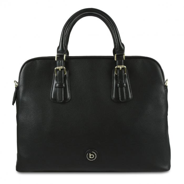 Geanta dama business Bugatti Passione negru 6