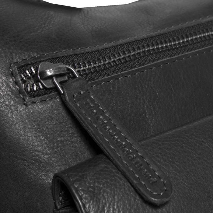 Geanta de dama din piele naturala, The Chesterfield Brand, Hailey, de umar, Negru [5]