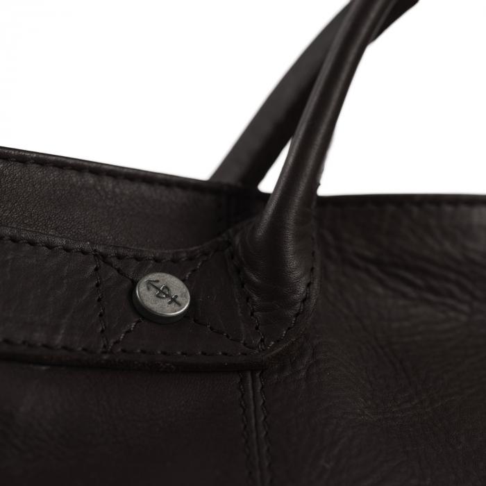 Geanta de dama din piele naturala, The Chesterfield Brand, Helsinki, Maro inchis [2]