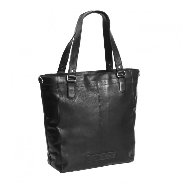 Geanta de dama din piele naturala, The Chesterfield Brand, Jade, Negru [0]