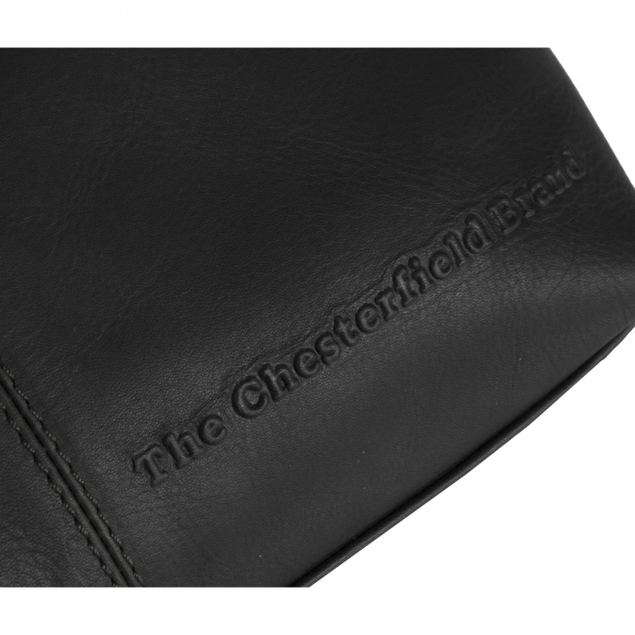 Geanta de dama din piele naturala, The Chesterfield Brand, Jen, Negru [2]