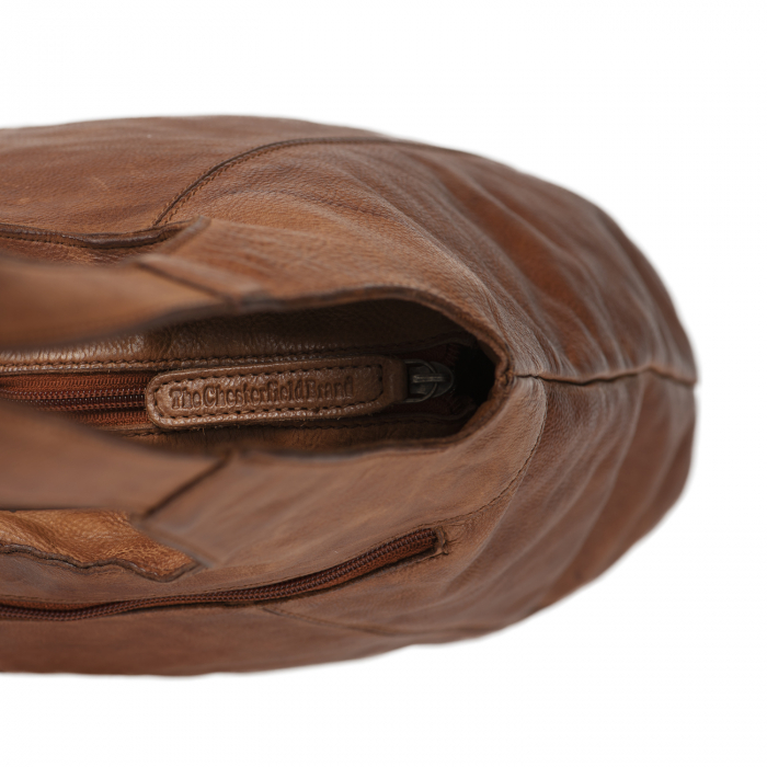 Geanta de dama din piele naturala, The Chesterfield Brand, Marseille, Maro coniac [2]