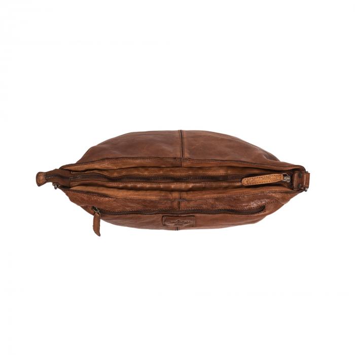 Geanta de dama piele naturala, The Chesterfield Brand, Abby, Maro coniac [6]