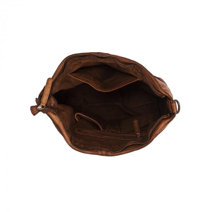 Geanta de dama piele naturala, The Chesterfield Brand, Abby, Maro coniac [4]
