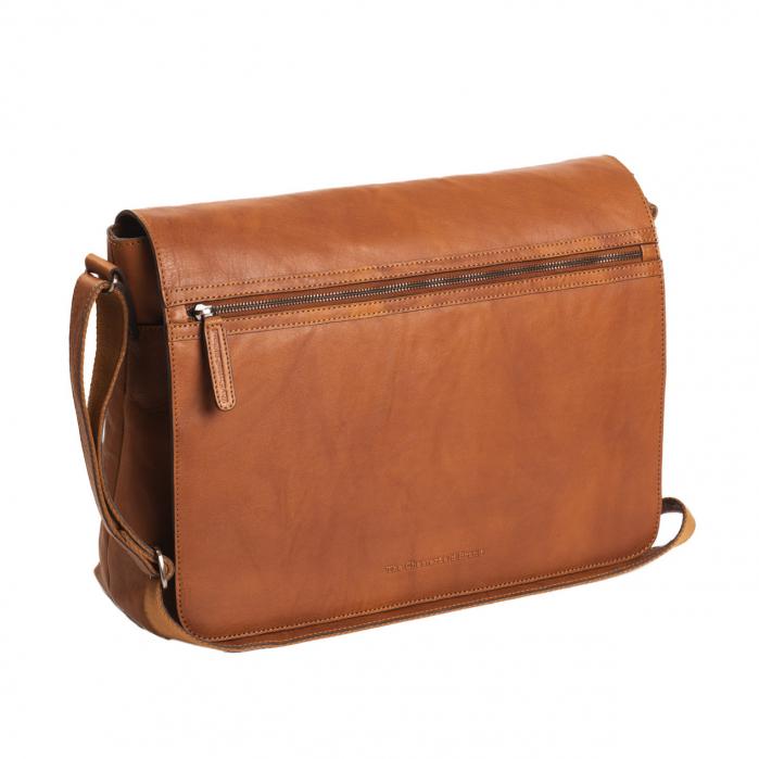 Geanta de laptop din piele naturala, The Chesterfield Brand, Marley 15.6 inch, Maro coniac [0]